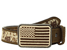 Ariat Sport Patriot w/ USA Flag Buckle Belt (Little Kids/Big Kids)