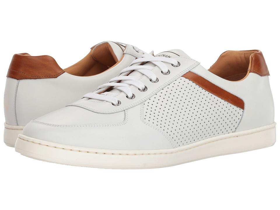Magnanni - Echo Lo Perf (White) Mens Shoes