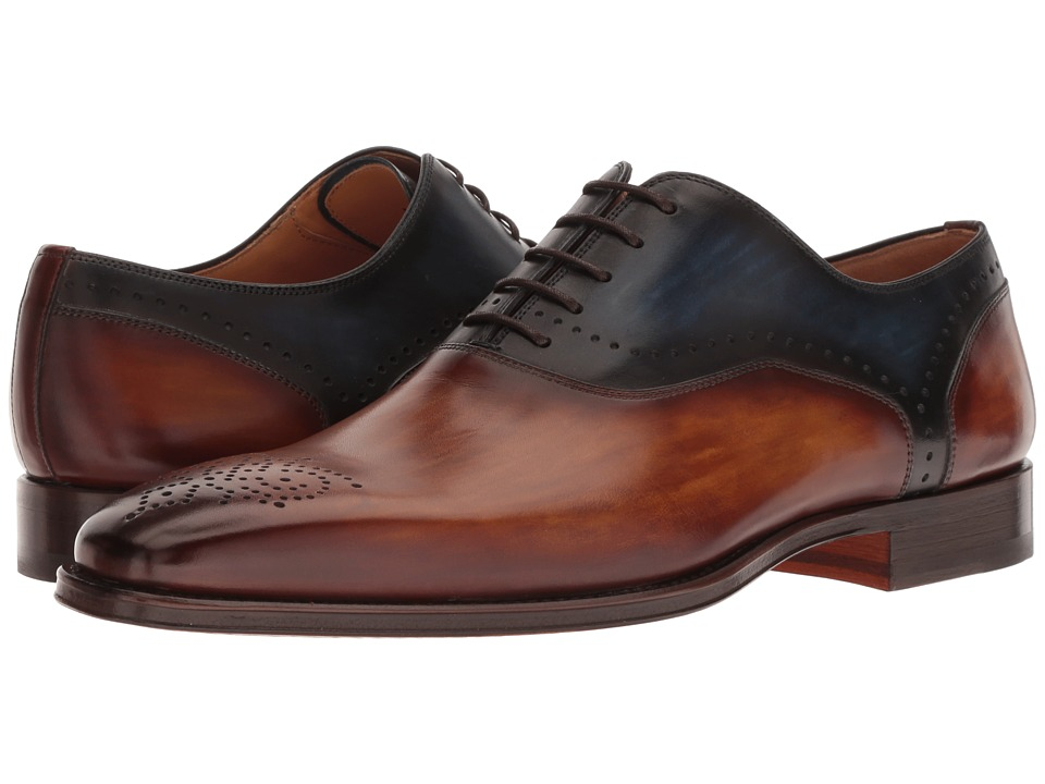 Magnanni - Preston (Cuero/Navy) Mens Shoes