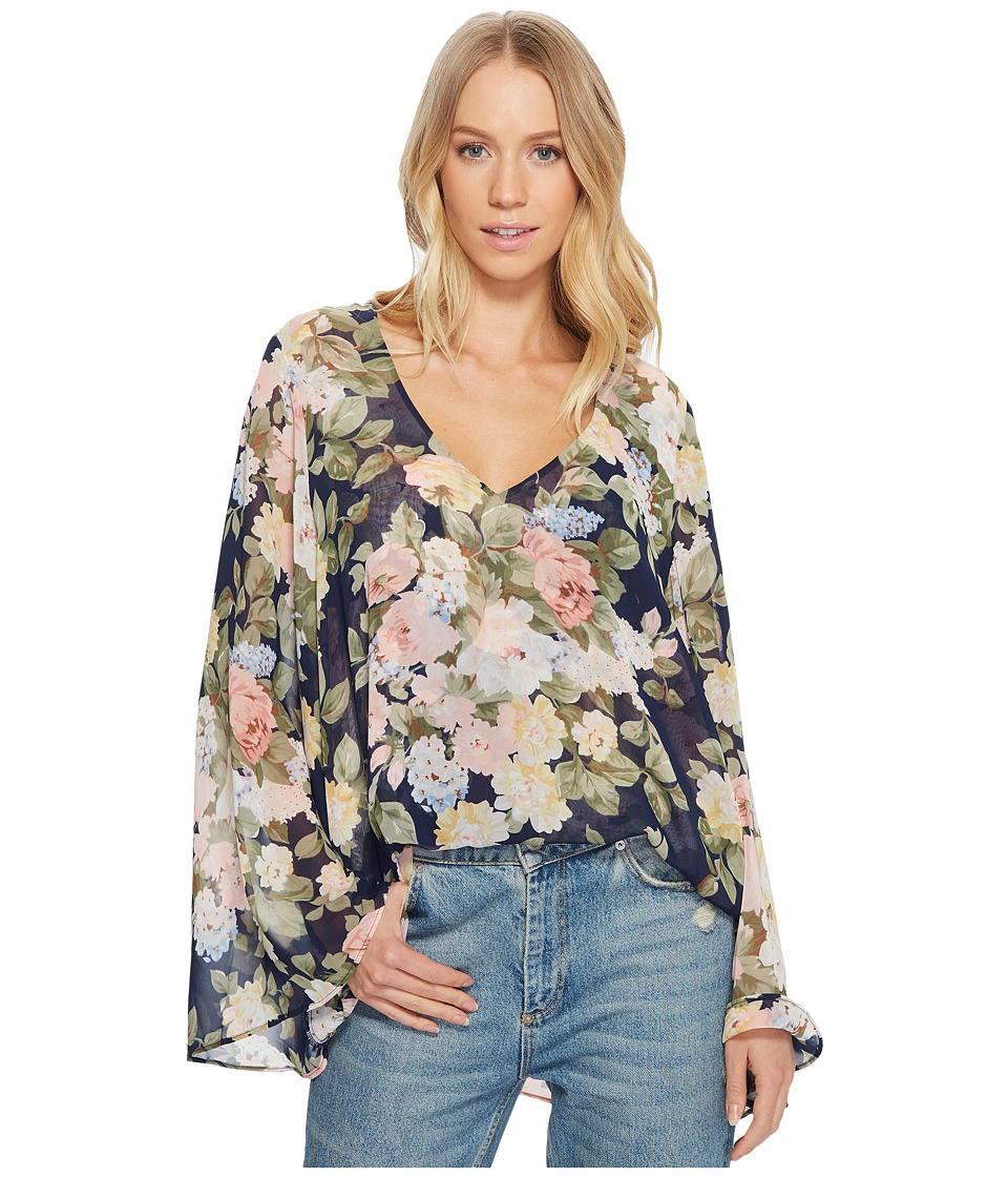 Show Me Your Mumu - Hippie Dippie Top (Party Blossom) Womens Clothing