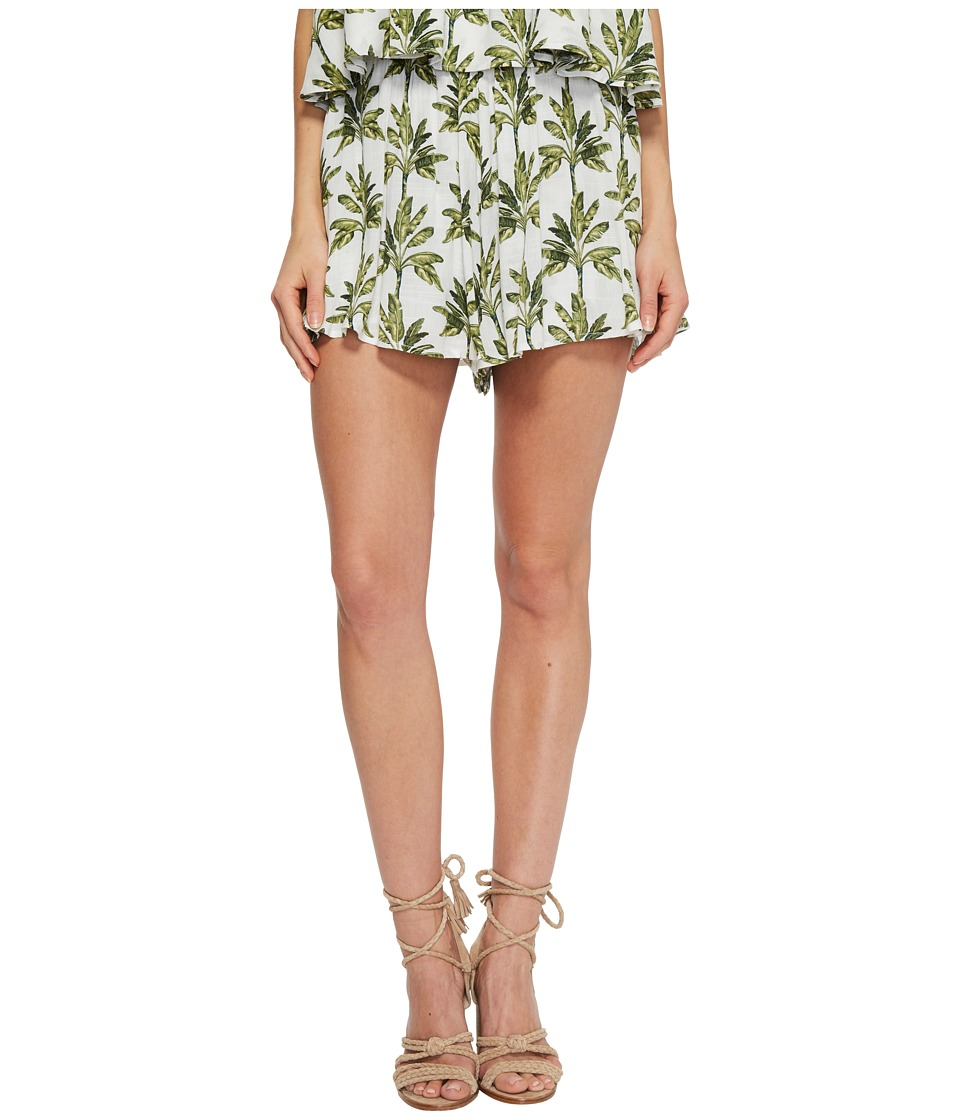 Show Me Your Mumu - Carlos Swing Shorts (Walk the Palm) Womens Shorts