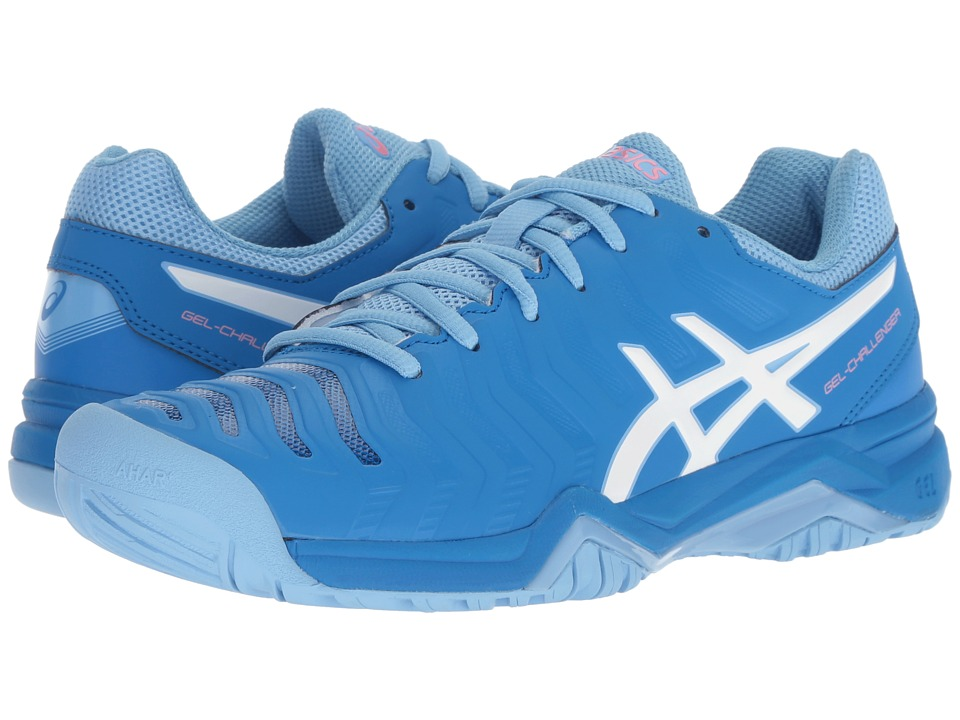 ASICS Gel-Challenger 11 (Electric Blue/White) Women's Tennis Shoes