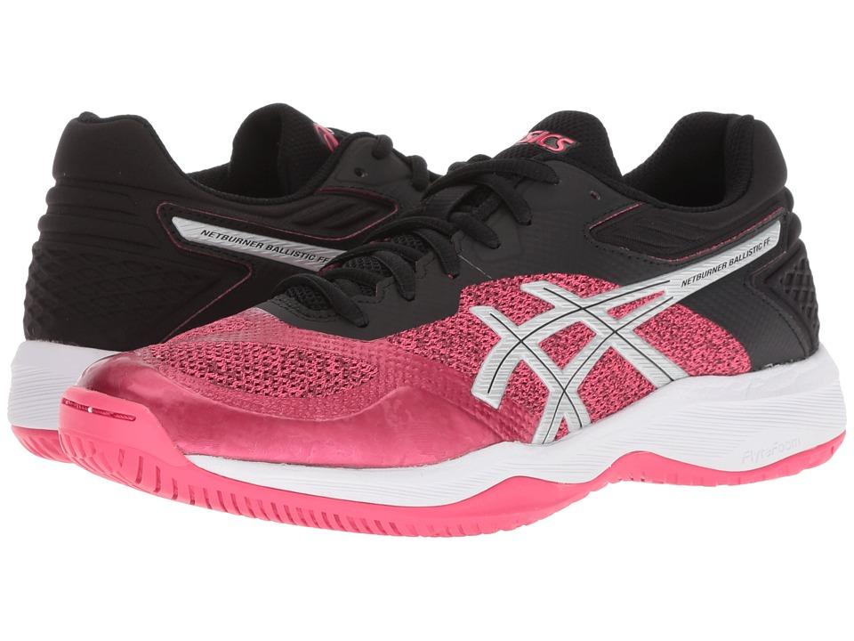 ASICS Netburner Ballistic FF (Pixel Pink/White) Women's Volleyball Shoes