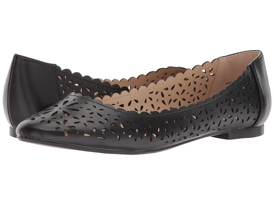 Athena Alexander Annora (Black) Women's Flat Shoes