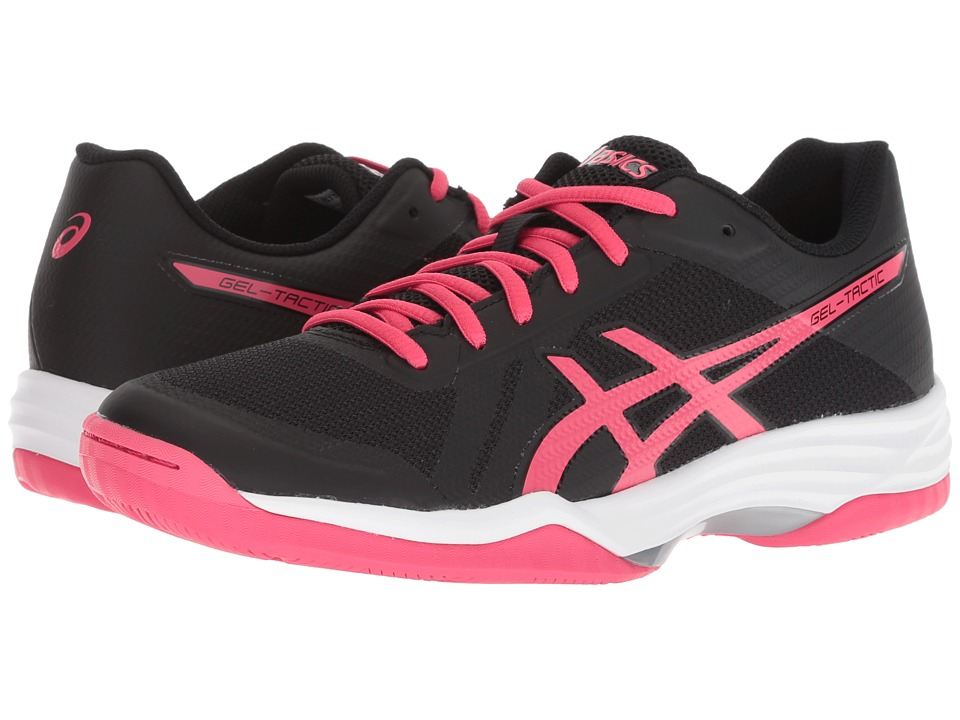ASICS Gel-Tactic 2 (Performance Black/Pixel Pink) Women's Volleyball Shoes