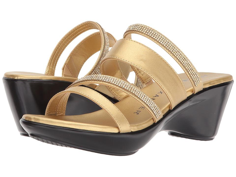 Athena Alexander - Kozima Sandal (Gold) Women's Sandals