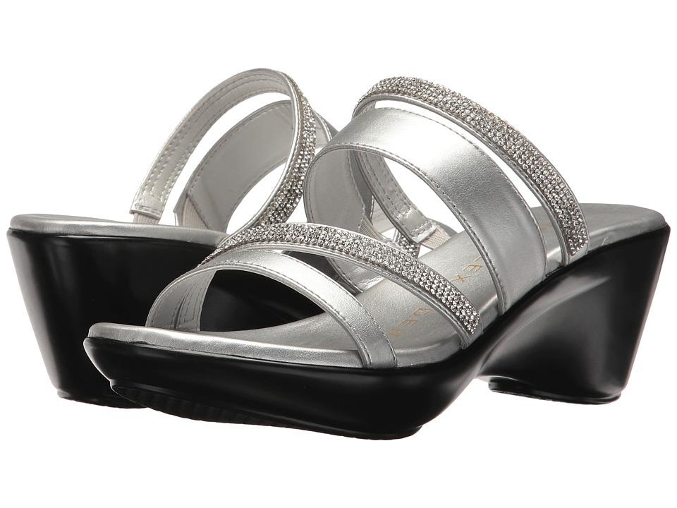 Athena Alexander Kozima Sandal (Silver) Women