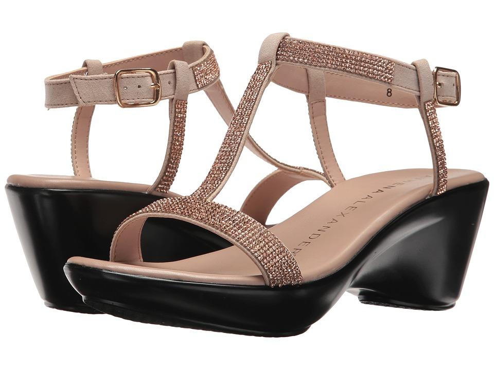 Athena Alexander Karinya (Rose Gold) Sandals