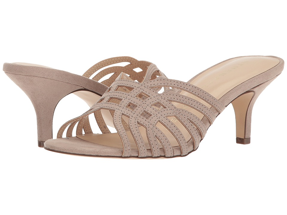 Athena Alexander Cece Cutout (Taupe Suede) High Heels