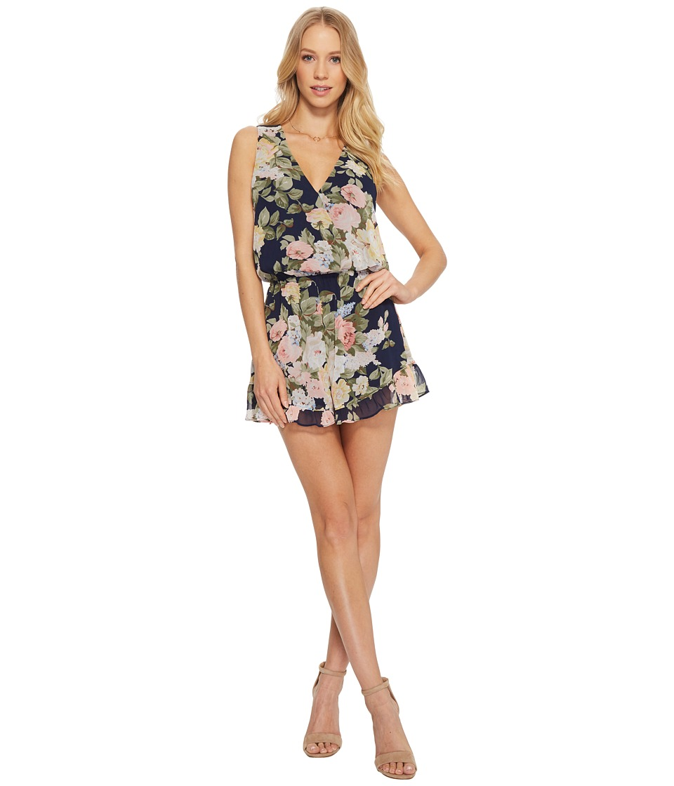 Show Me Your Mumu - Riri Romper (Party Blossom) Womens Jumpsuit & Rompers One Piece