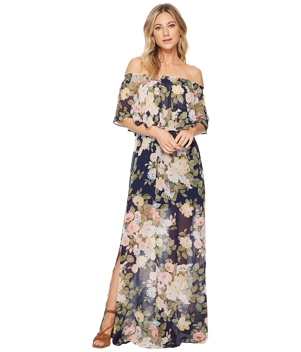 Show Me Your Mumu - Hacienda Maxi Dress (Party Blossom) Womens Dress