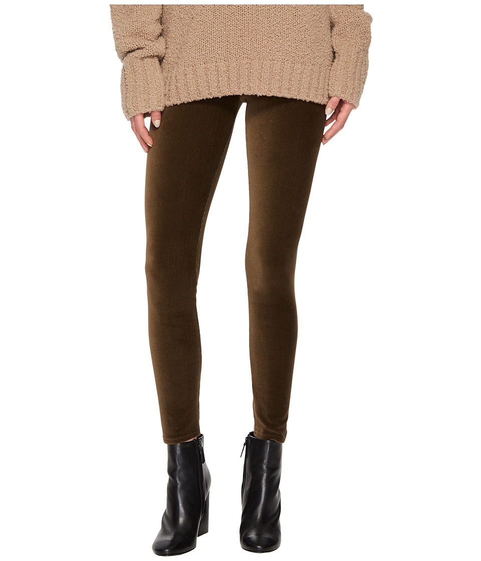 Vince Stretch Corduroy Leggings (Dark Willow) Women's Clo...