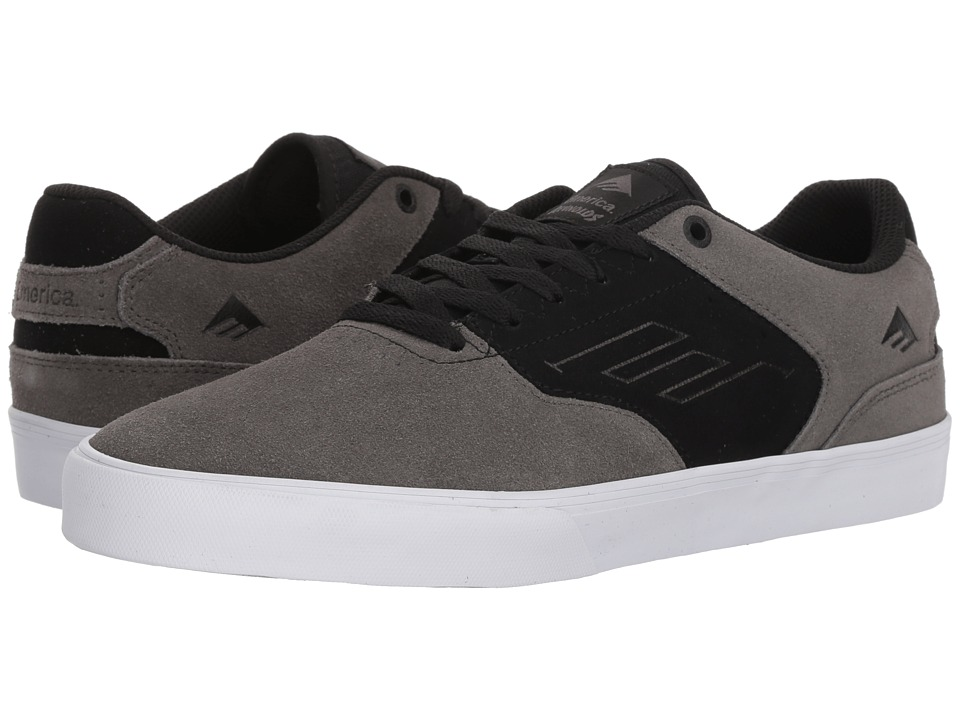 Emerica - The Reynolds Low Vulc (Grey/Black/White) Mens Skate Shoes