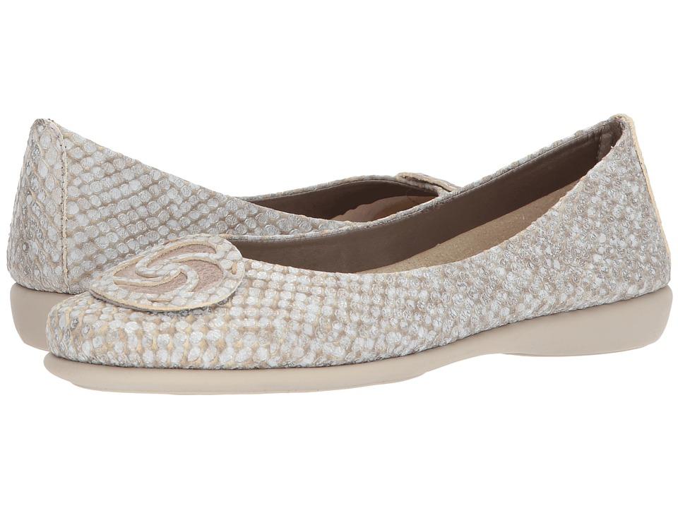 The FLEXX - Bon Bon Plush (Gold Cabretta/Haze Kean) Womens Shoes