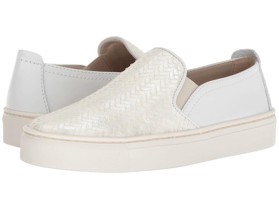 The FLEXX Sneak Name (Perla Mirage/White Vacchetta) Slip-On Shoes