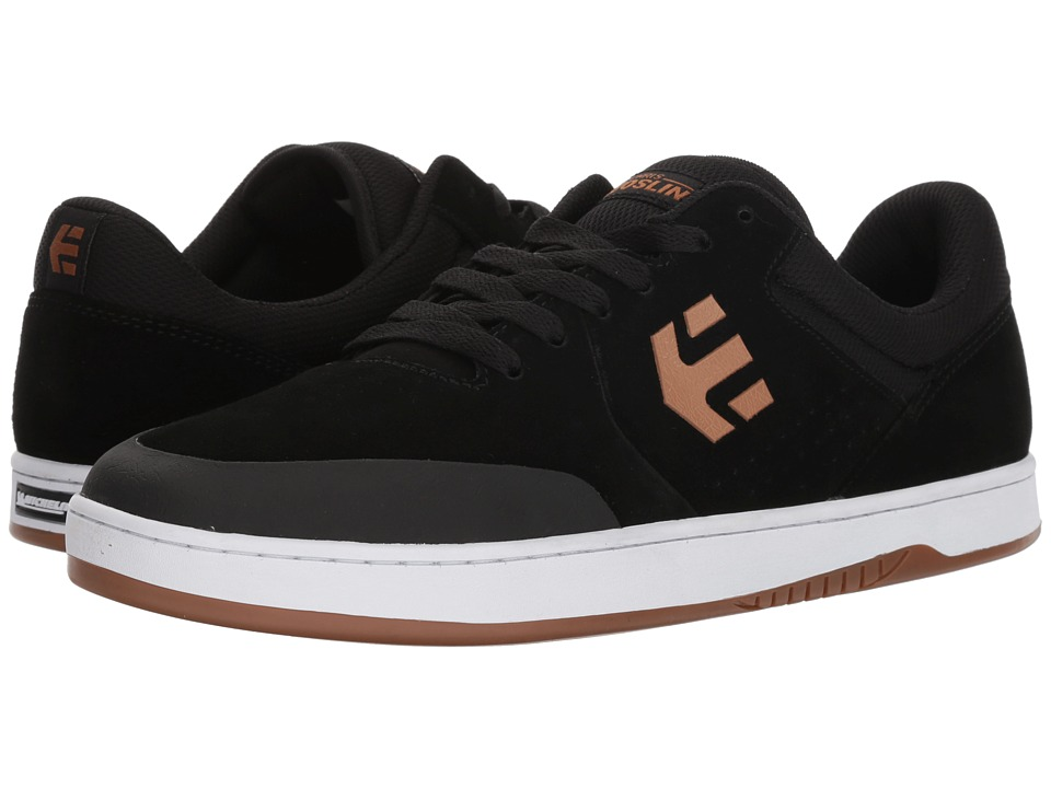 etnies - Marana (Black/Tan) Mens Skate Shoes
