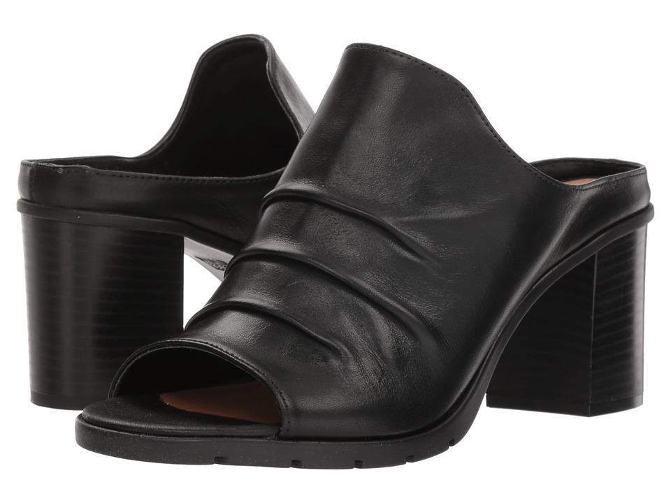 The FLEXX Aim To Pleat (Black Vacchetta) Women's Shoes