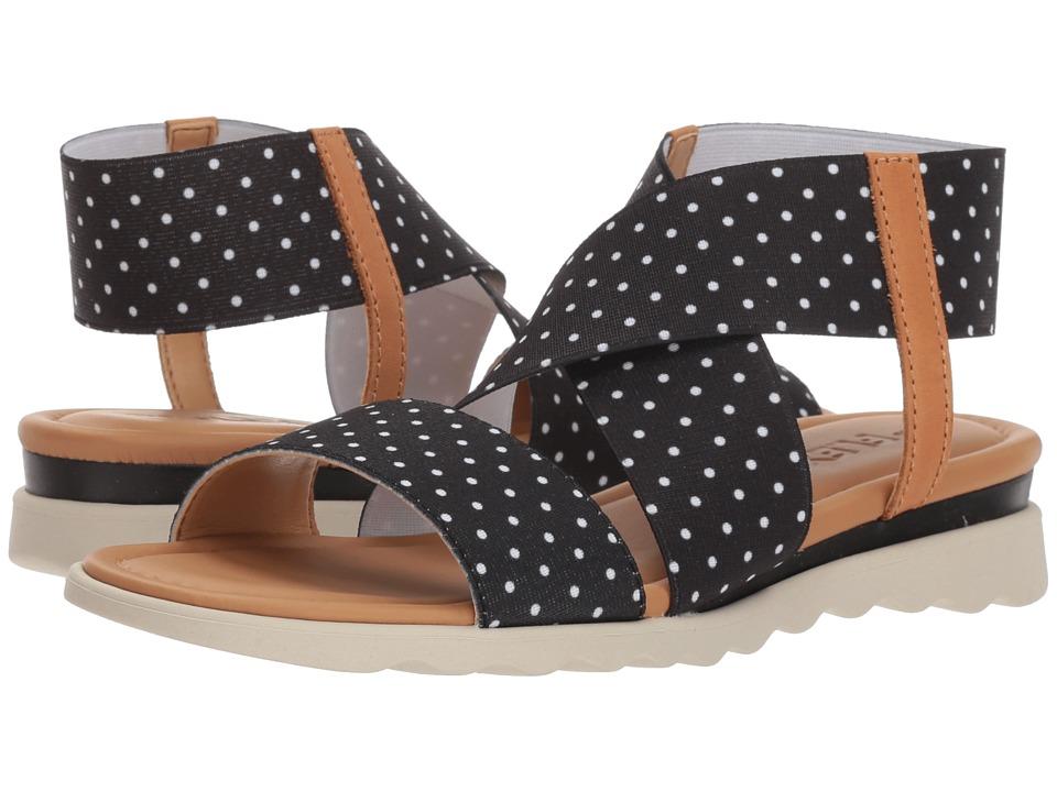 Flexx Extra (Black Dots Elastic) Women's Shoes