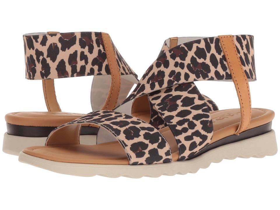 Flexx Extra (Dune Leopard Elastic) Women's Shoes