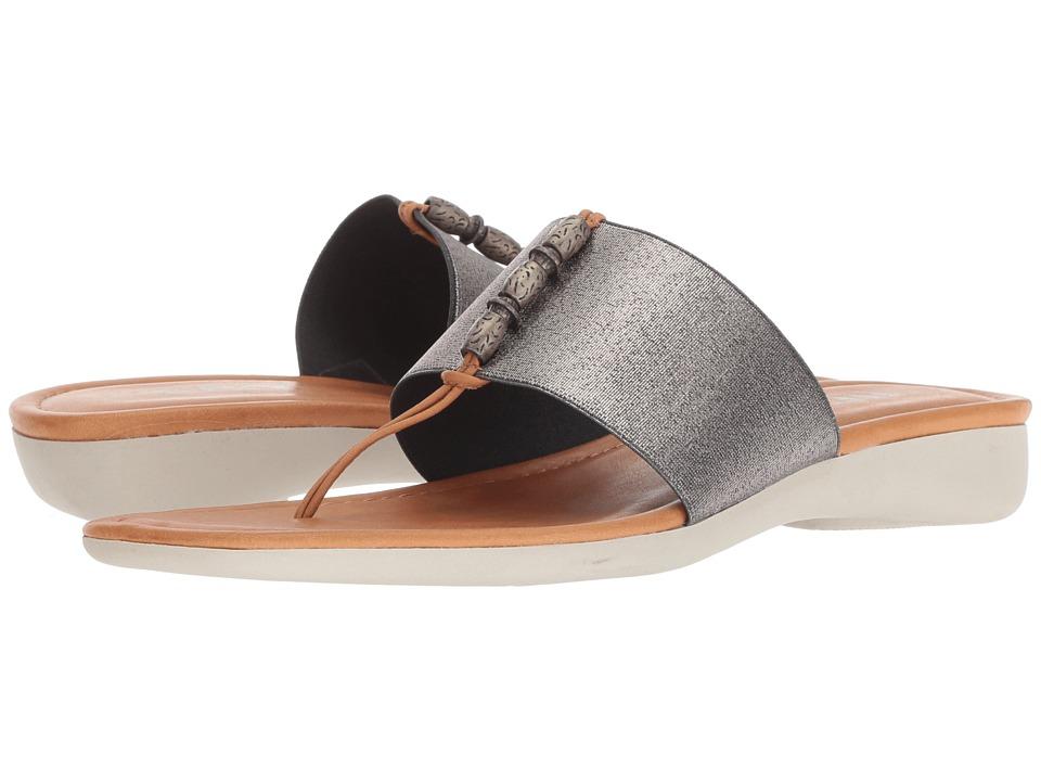 The FLEXX Rain Maker (Canna Di Fucile Metallic Elastic/Cognac Vacchetta) Women's Shoes