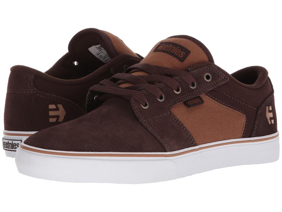 etnies - Barge LS (Brown/Tan) Mens Skate Shoes