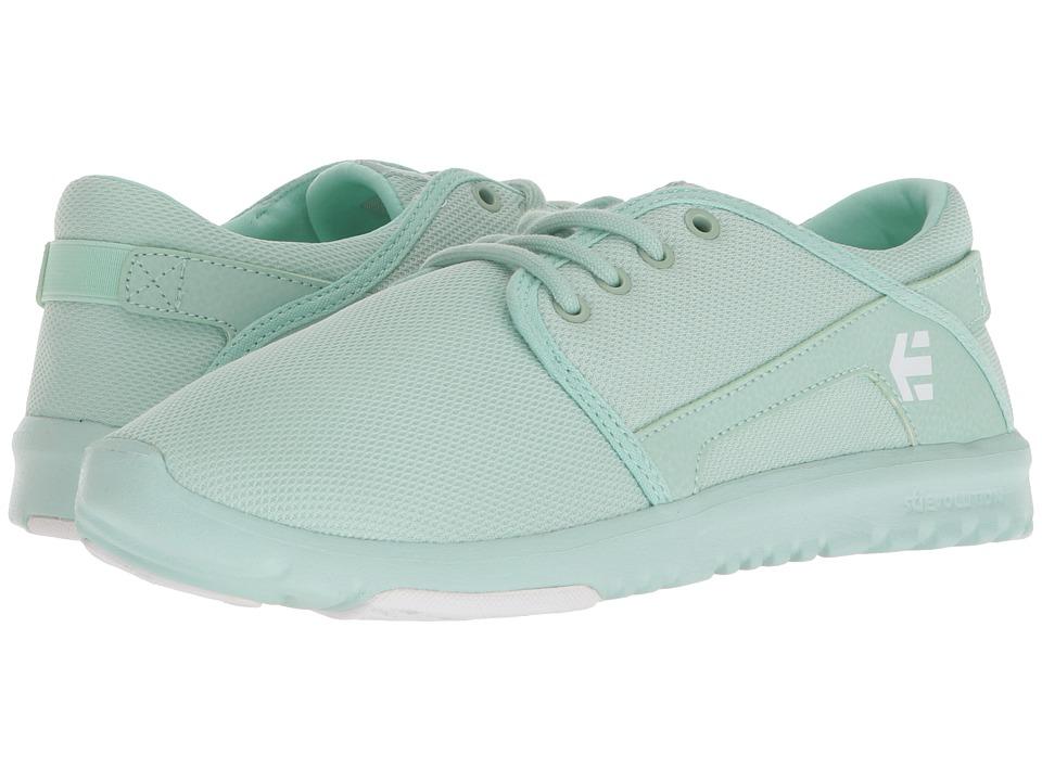 etnies Scout W (Aqua) Women's Skate Shoes