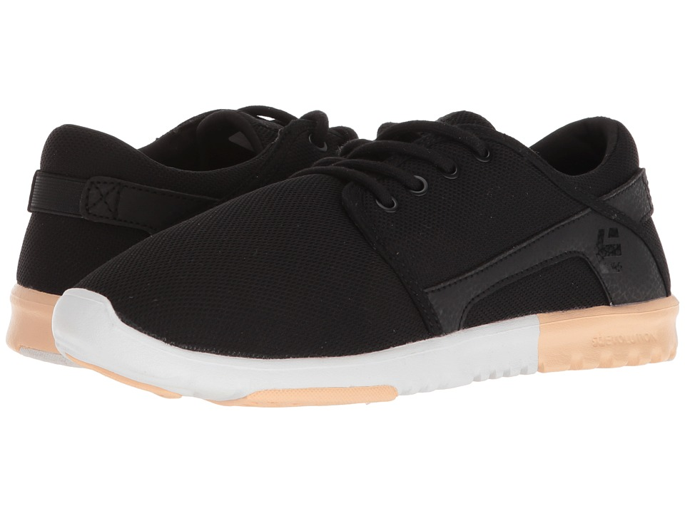 etnies Scout W (Black/Pink/Light Pink) Women's Skate Shoes