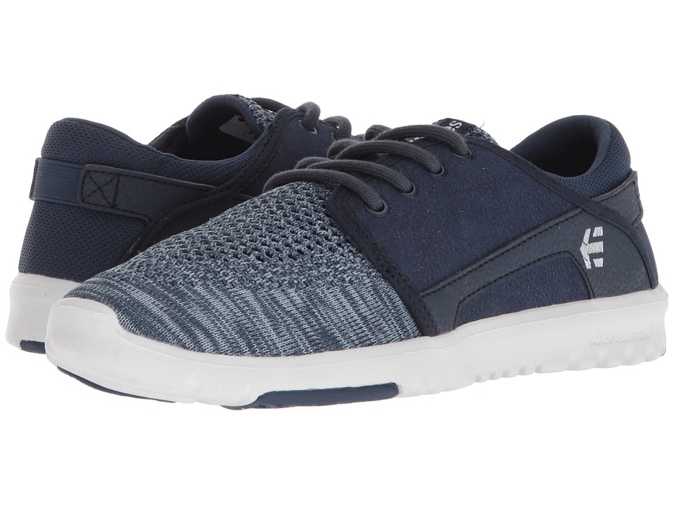 etnies Scout YB (Navy/Blue) Women's Skate Shoes