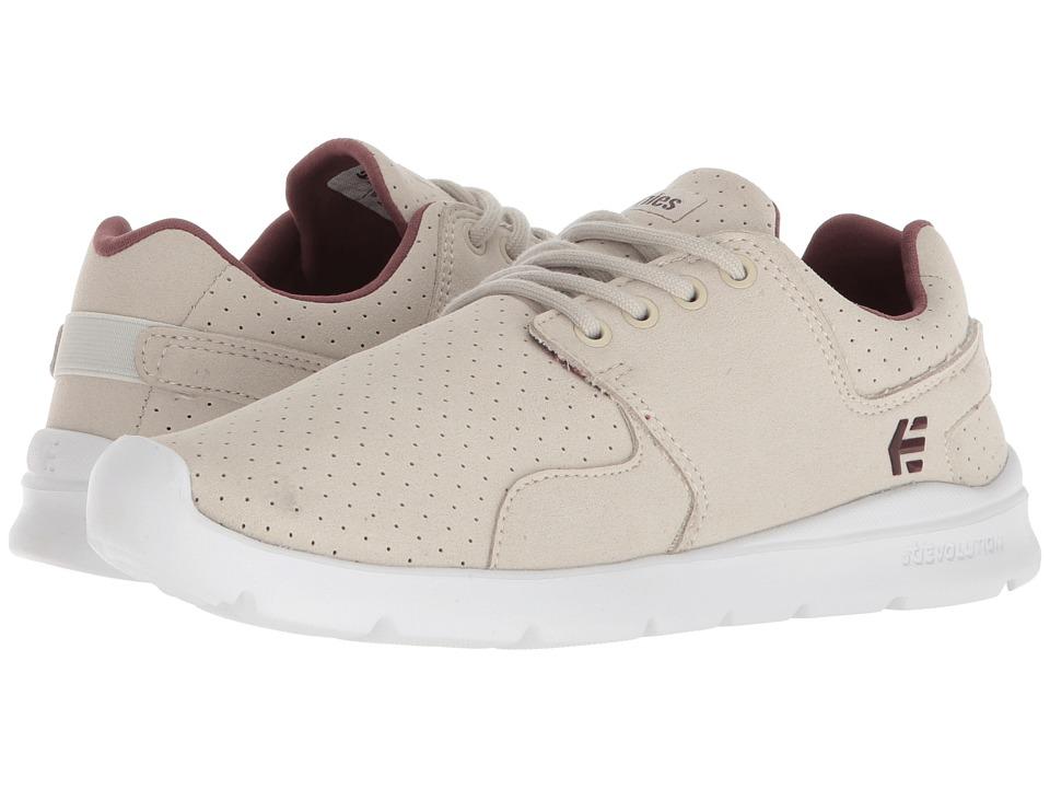 etnies Scout XT (Grey/Burgundy) Women's Skate Shoes
