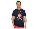 Psycho Bunny Bunny Logo Wave Print T-Shirt