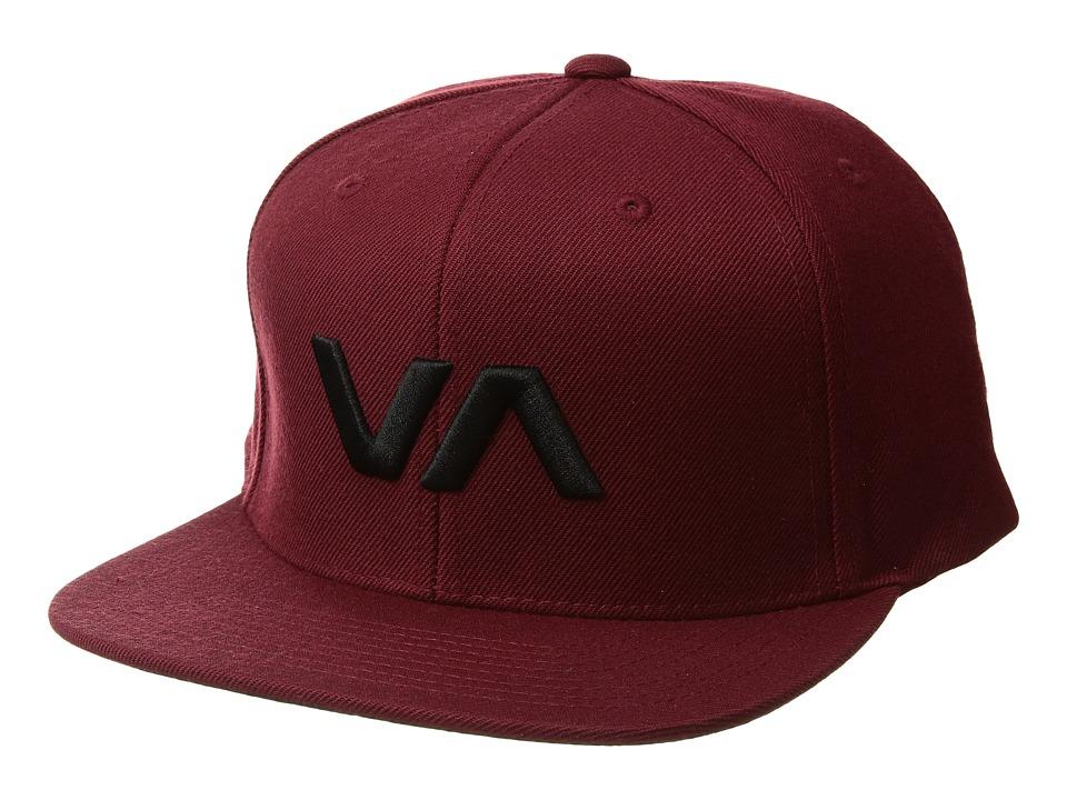 RVCA - VA Snapback II (Tawny Black) Caps