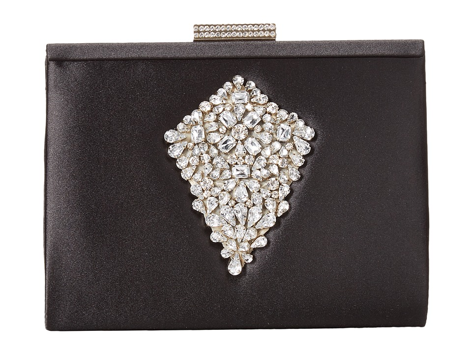 Badgley Mischka Candid Clutch (Black) Clutch Handbags