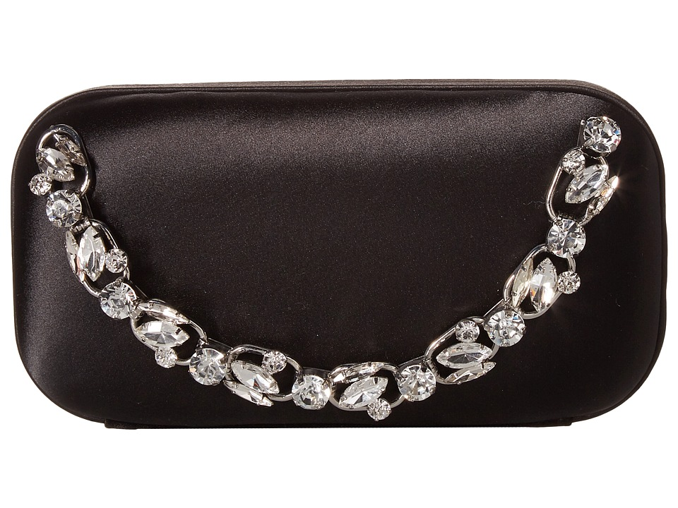Badgley Mischka Capture Clutch (Black) Clutch Handbags
