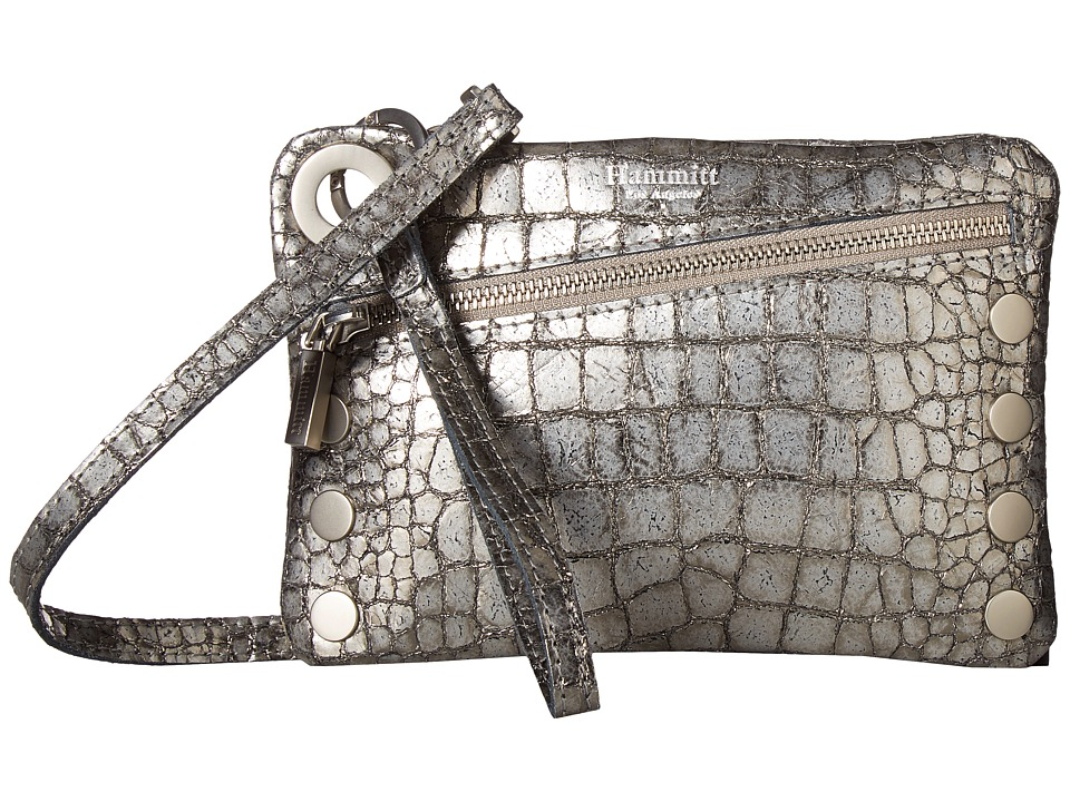 Hammitt - Nash Small (Obsidian/Brushed Silver) Handbags