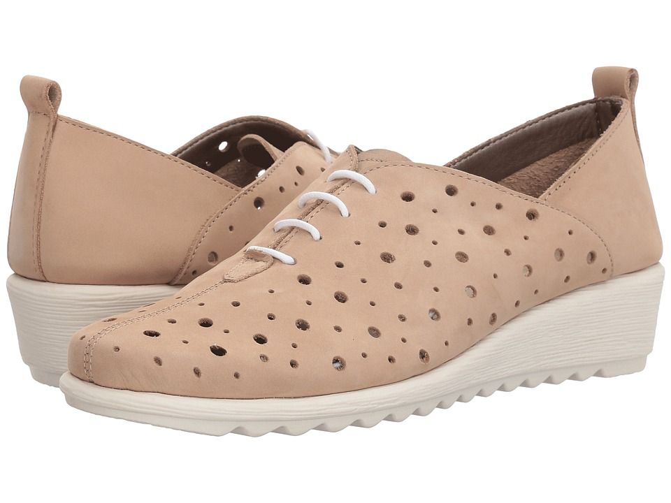 The FLEXX - Run Crazy Too (Dune Nubuck) Womens Lace up casual Shoes