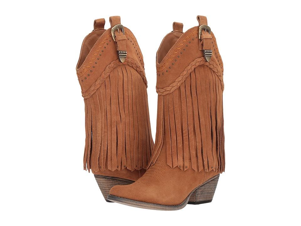 VOLATILE Davila (Tan) Cowboy Boots