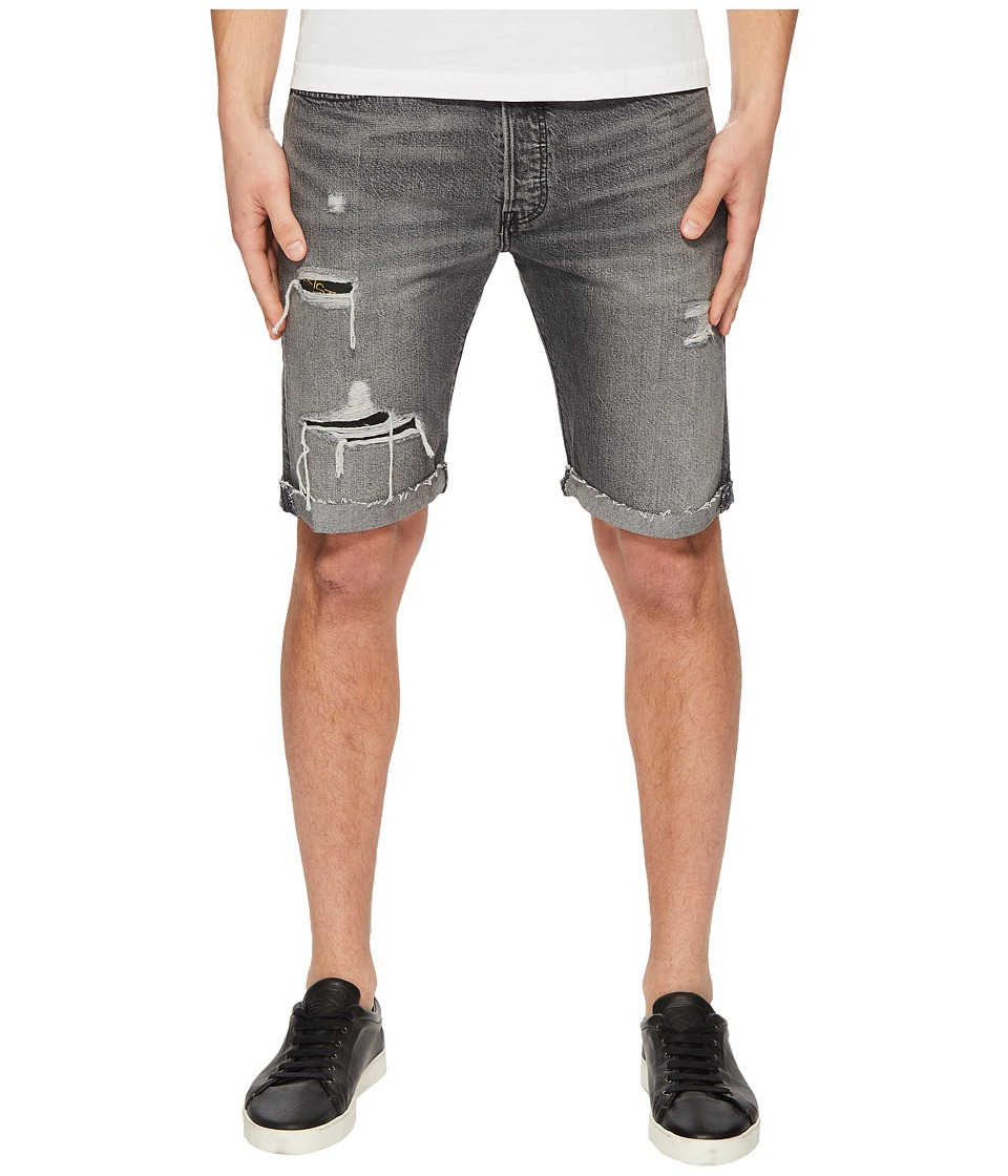 Levis(r) Premium - Premium 501 Straight Fit Cut Off Shorts (Black Hawaii) Mens Shorts
