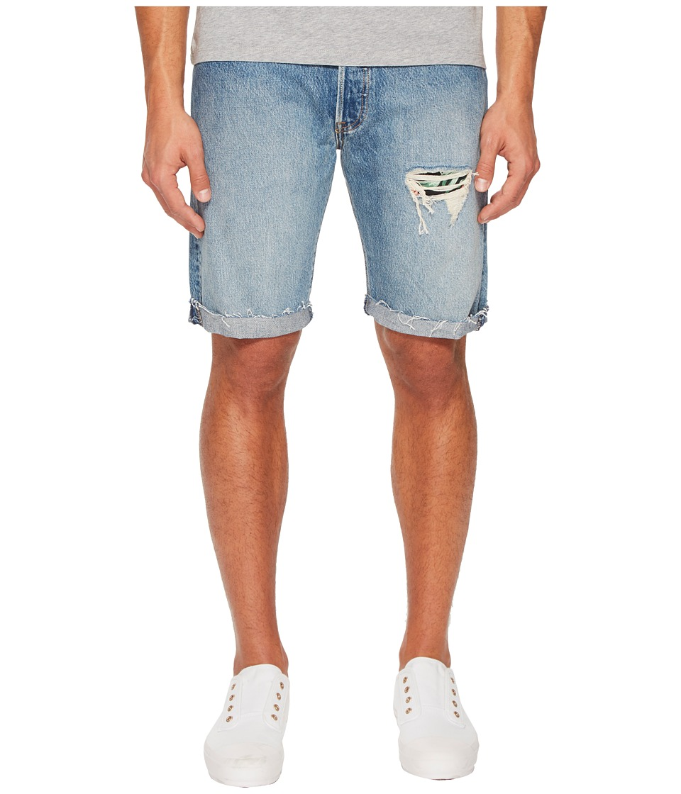 Levis(r) Premium - Premium 501 Straight Fit Cut Off Shorts (Kauai) Mens Shorts
