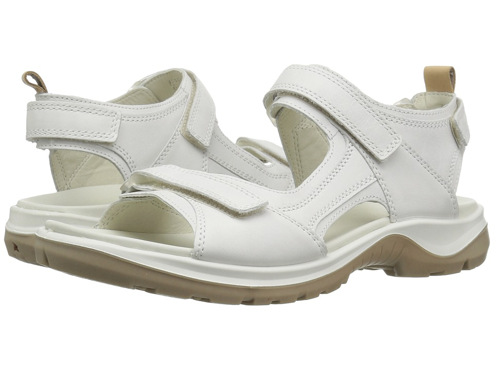 ECCO Sport Premium Offroad (White/Powder) Sandals