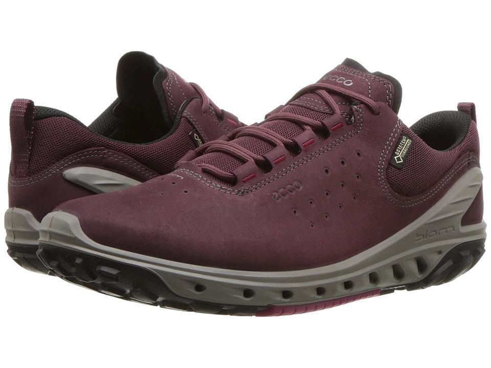 ECCO Sport Biom Venture GTX Tie (Wine) Women's Running Shoes