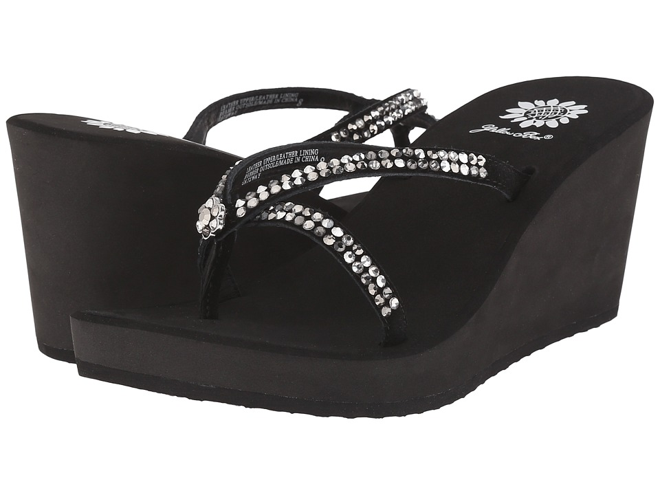 Yellow Box - Gateway (Black Pewter) Women's Dress Sandals
