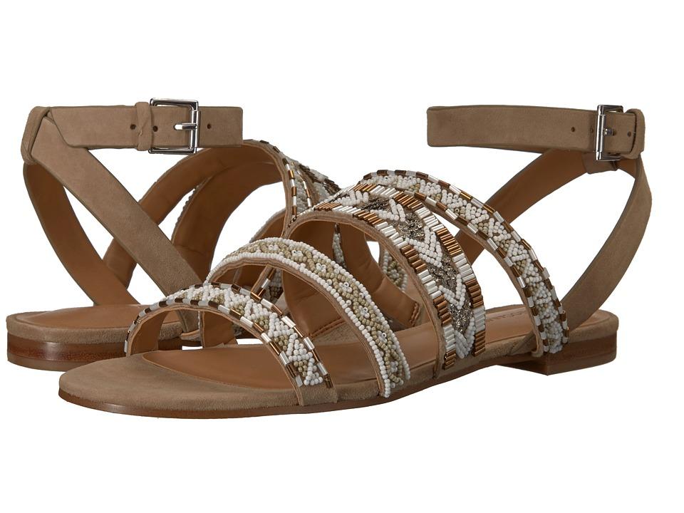 Rebecca Minkoff - Leila (Chevron Combo Beading) Womens Sandals