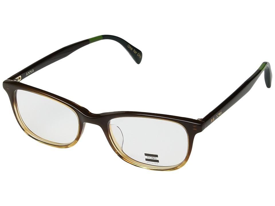 TOMS - Anna (Brown) Fashion Sunglasses