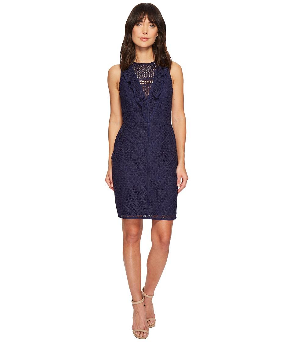 Adelyn Rae - Maxine Sheath Dress (Navy) Womens Dress