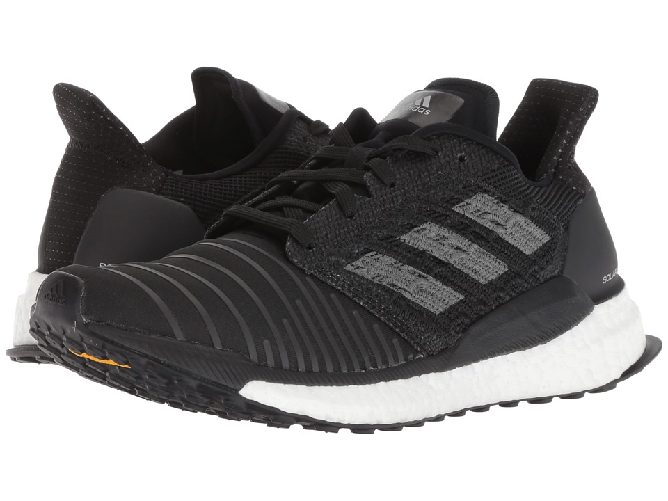 adidas Running Solar Boost (Core Black/Grey Four F17/FTWR White) Women's Running Shoes