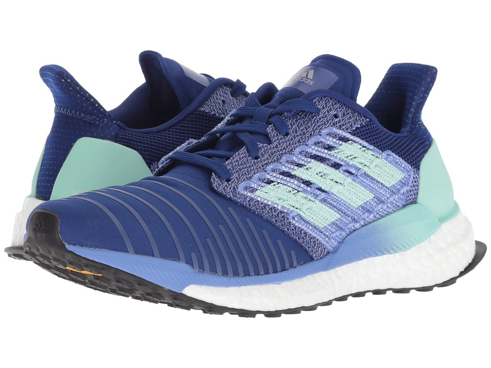 adidas Running Solar Boost (Mystery Ink/Clear Mint/Real Lilac) Women's Running Shoes