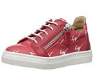 Giuseppe Zanotti Kids Logo Sneaker (Toddler)