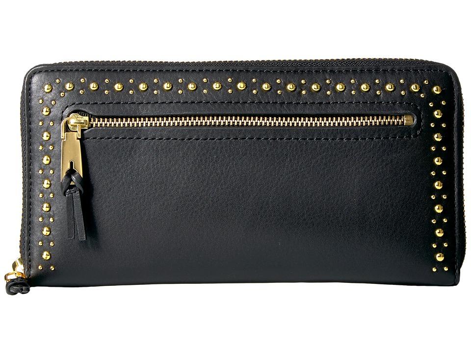 Cole Haan Marli Studding Continental Wallet (Black 2) Wal...