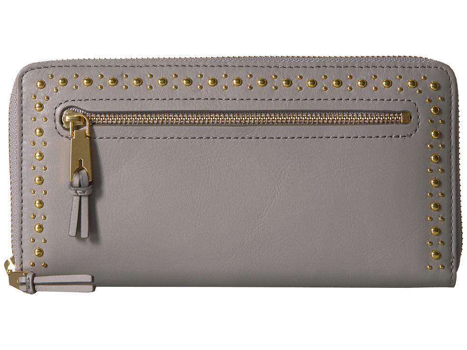 Cole Haan Marli Studding Continental Wallet (Ironstone 2)...