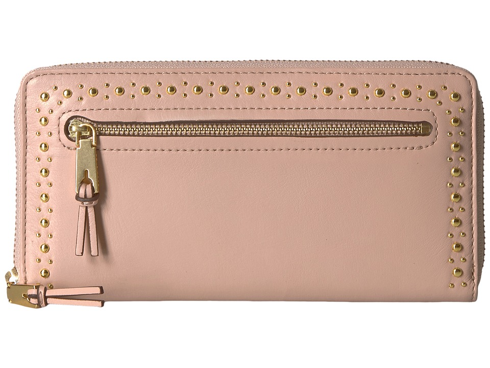 Cole Haan Marli Studding Continental Wallet (Pink/Nude) W...